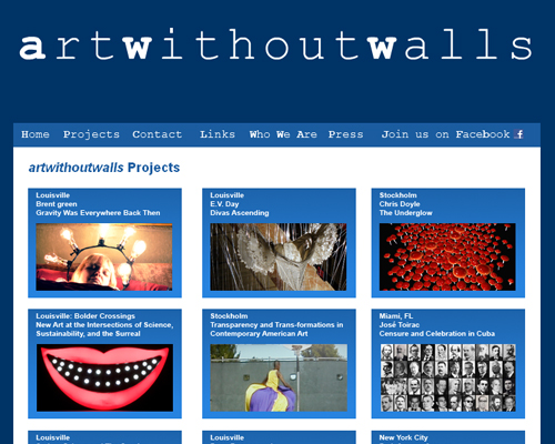 Art Without Walls - Contemporary WebsitesContemporary Websites