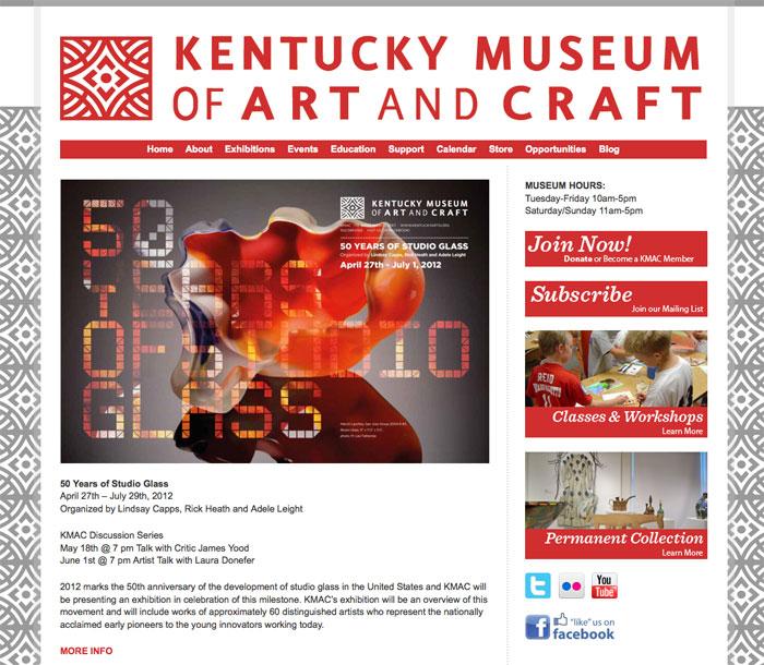 Kentucky Museum Of Art Contemporary Websitescontemporary Websites